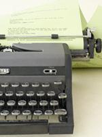 Typewriterguestbook